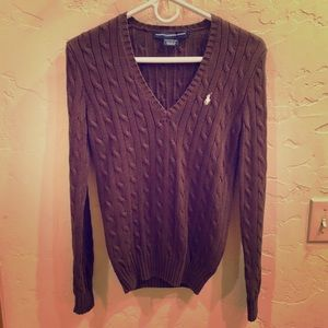 NWOT Ralph Lauren Polo Sport Cable Knit Sweater